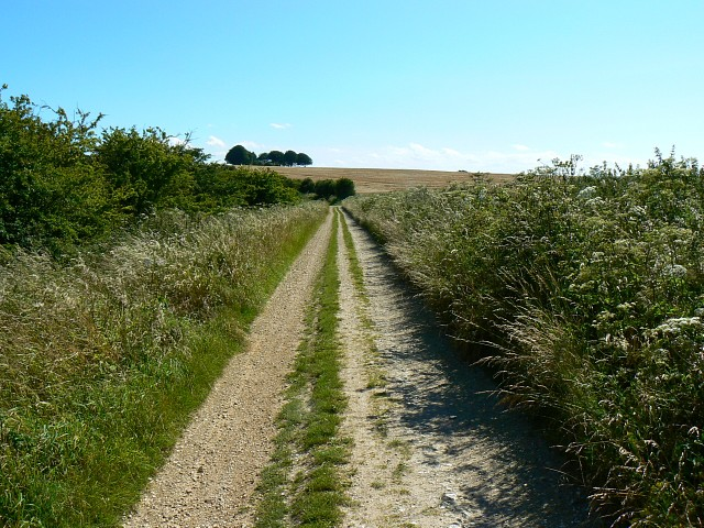 The Ridgeway, south of Hackpen Hill - geograph.org.uk - 885321