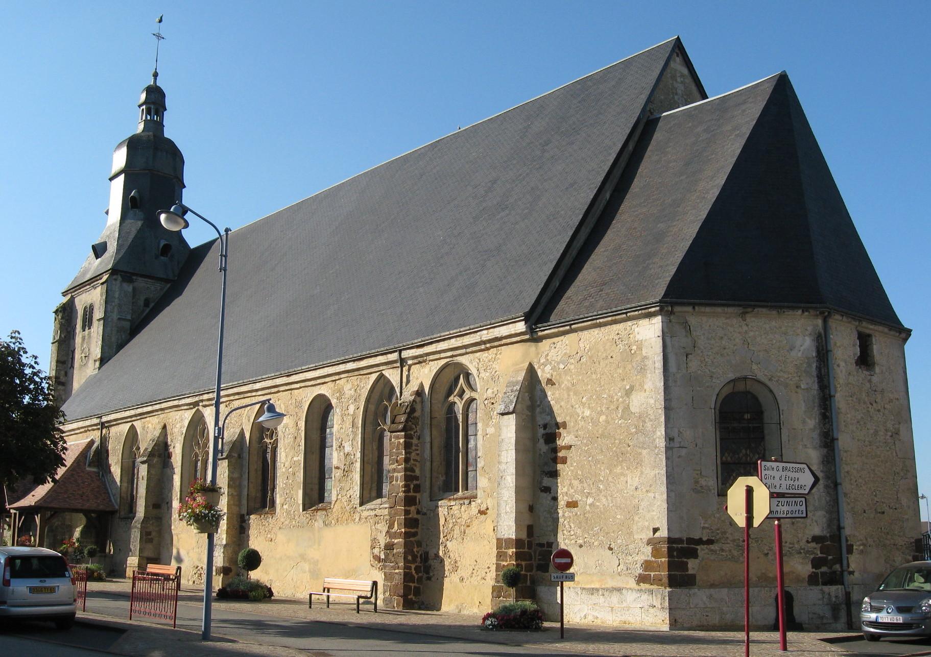 Brocante La Ferte St Aubin tourouvre - wikipedia