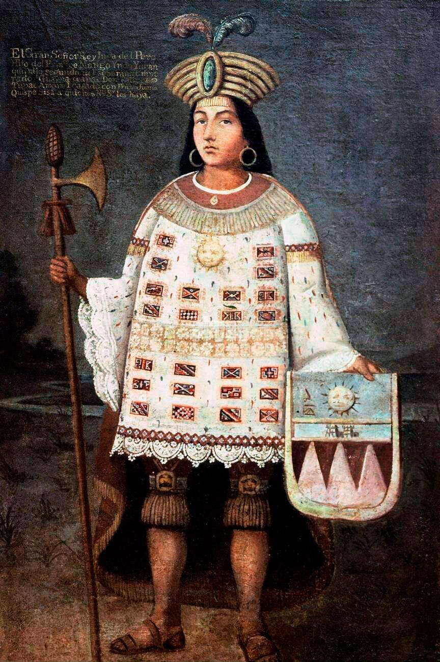 Inca Chief Tupac Amaru