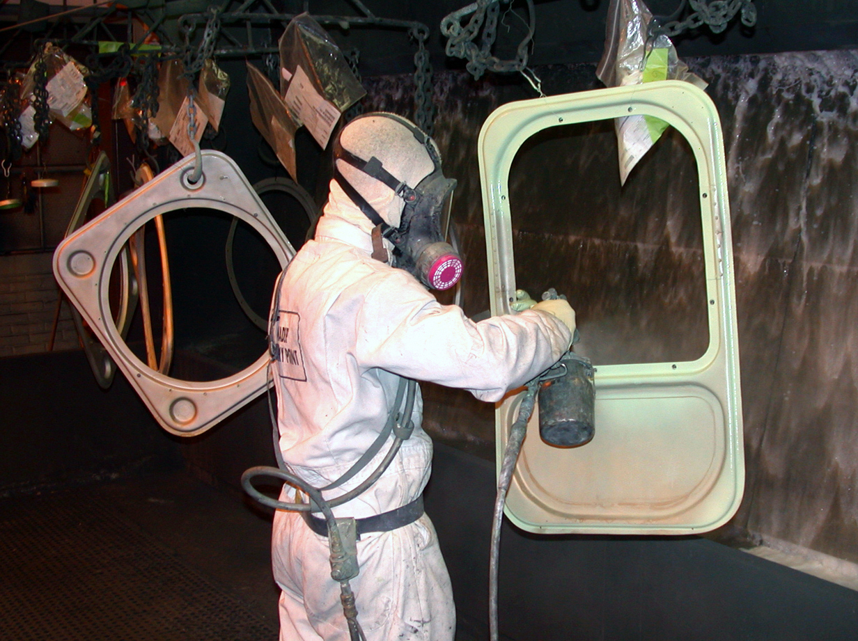 Ppe Paint Spraying