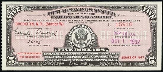 United States Postal Savings System - Wikipedia