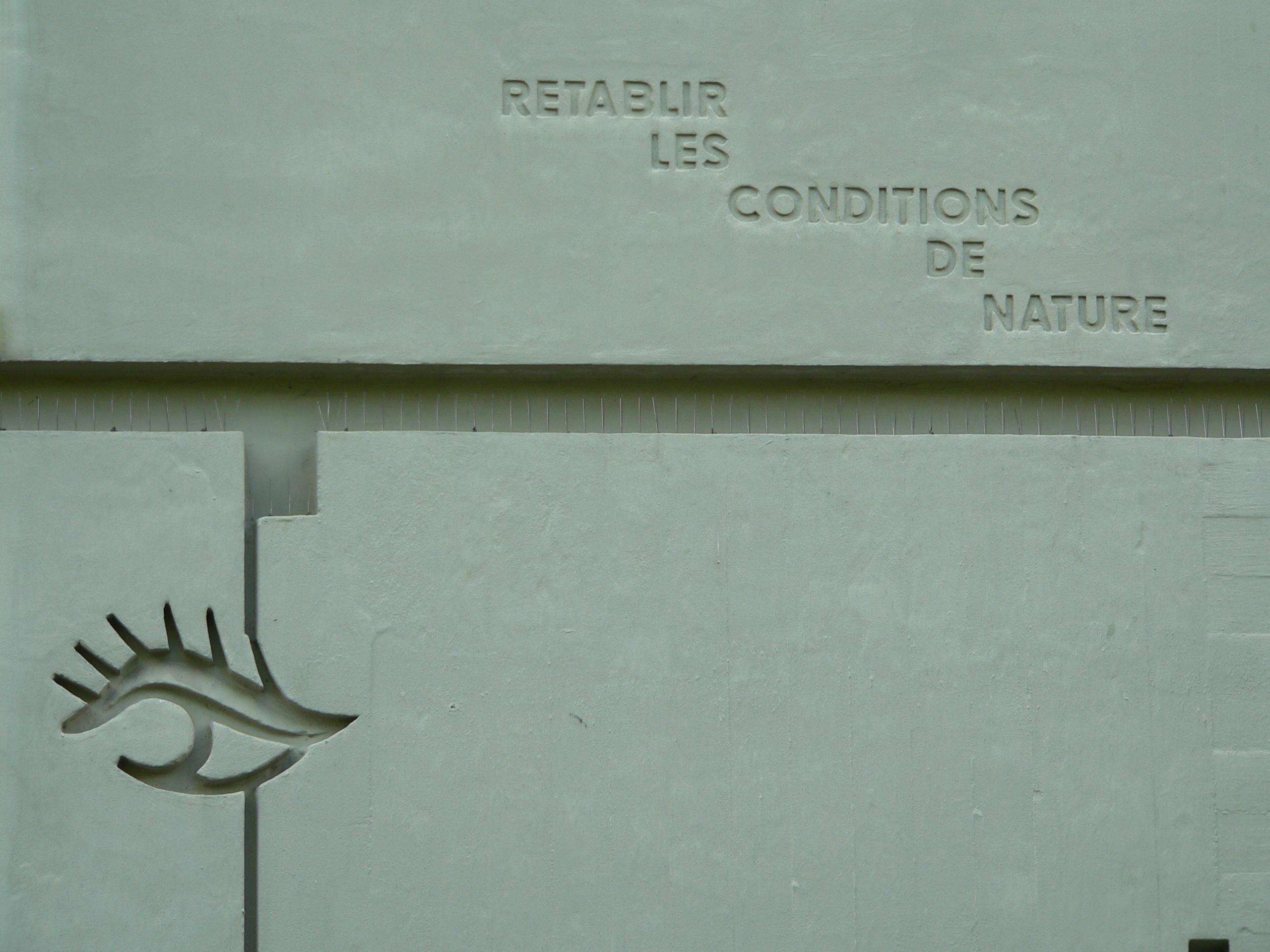 File unit d 39 habitation typ berlin corbusier haus westfassade soc - Unite d habitation dimensions ...