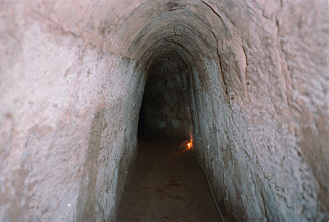 Cu Chi Tunnels photo courtesy of Wikimedia