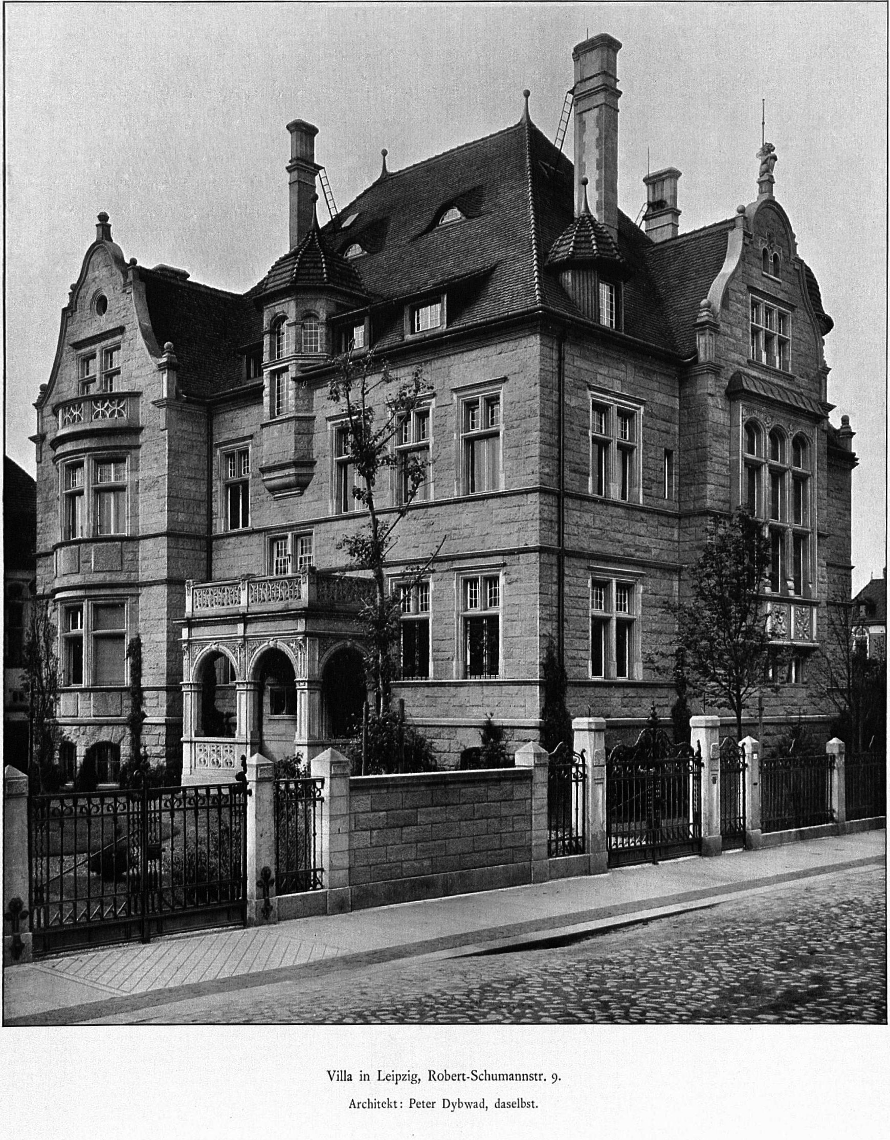 File villa in leipzig robert schumannstr 9 architekt for Architekt leipzig