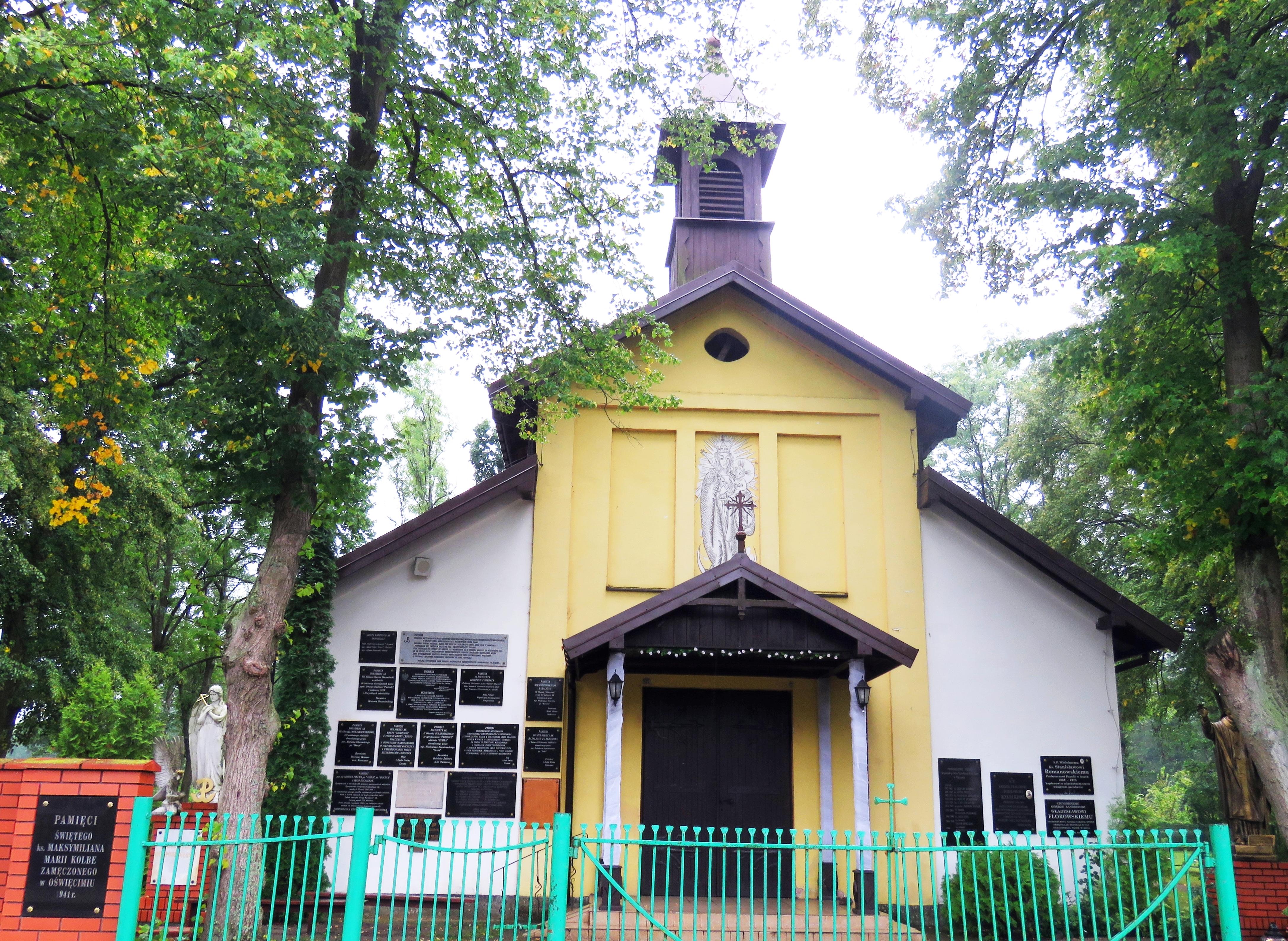 Filewiersze 02 Kościół Pwśw Maksymiliana Marii Kolbejpg
