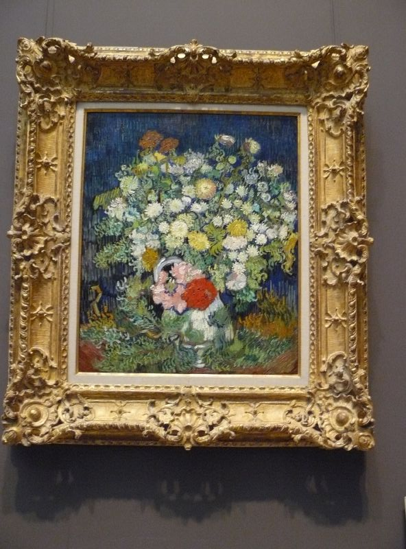 flowers in vase van gogh. flowers in vase van gogh. File:WLA metmuseum Vincent van
