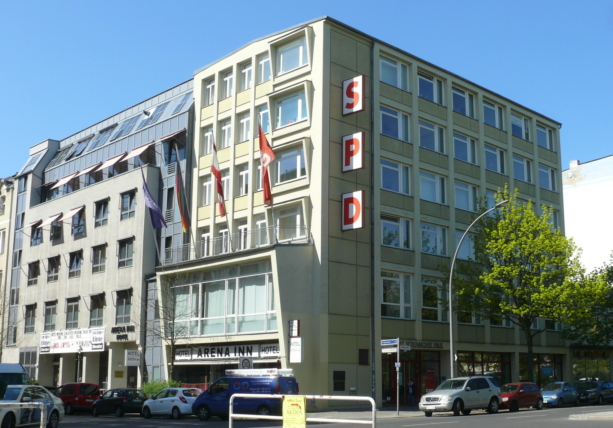 Kurt Schumacher Haus Berlin Wikipedia