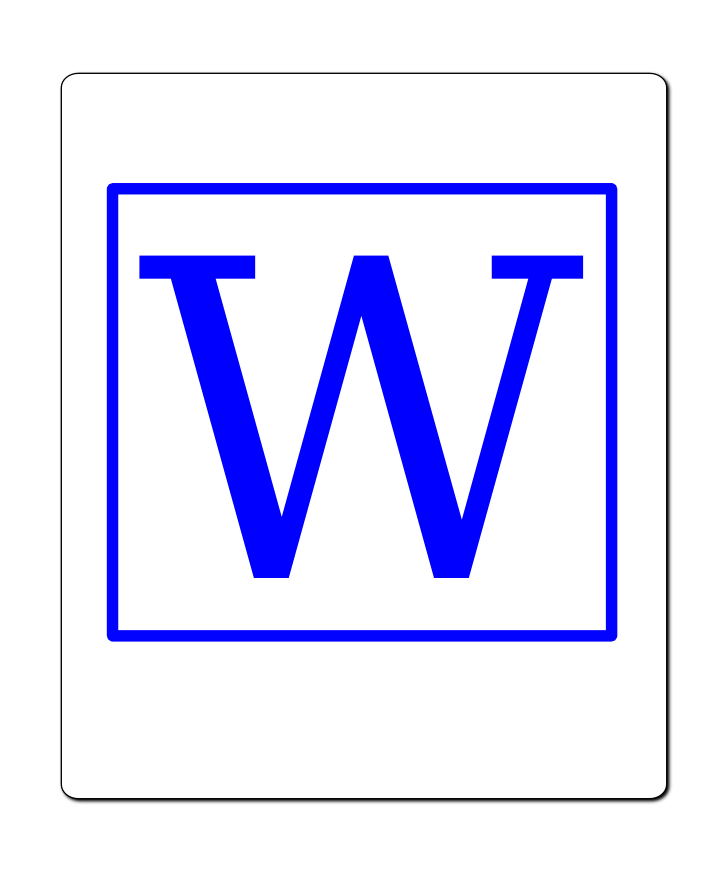 Gallery Word 2010 Document Icon