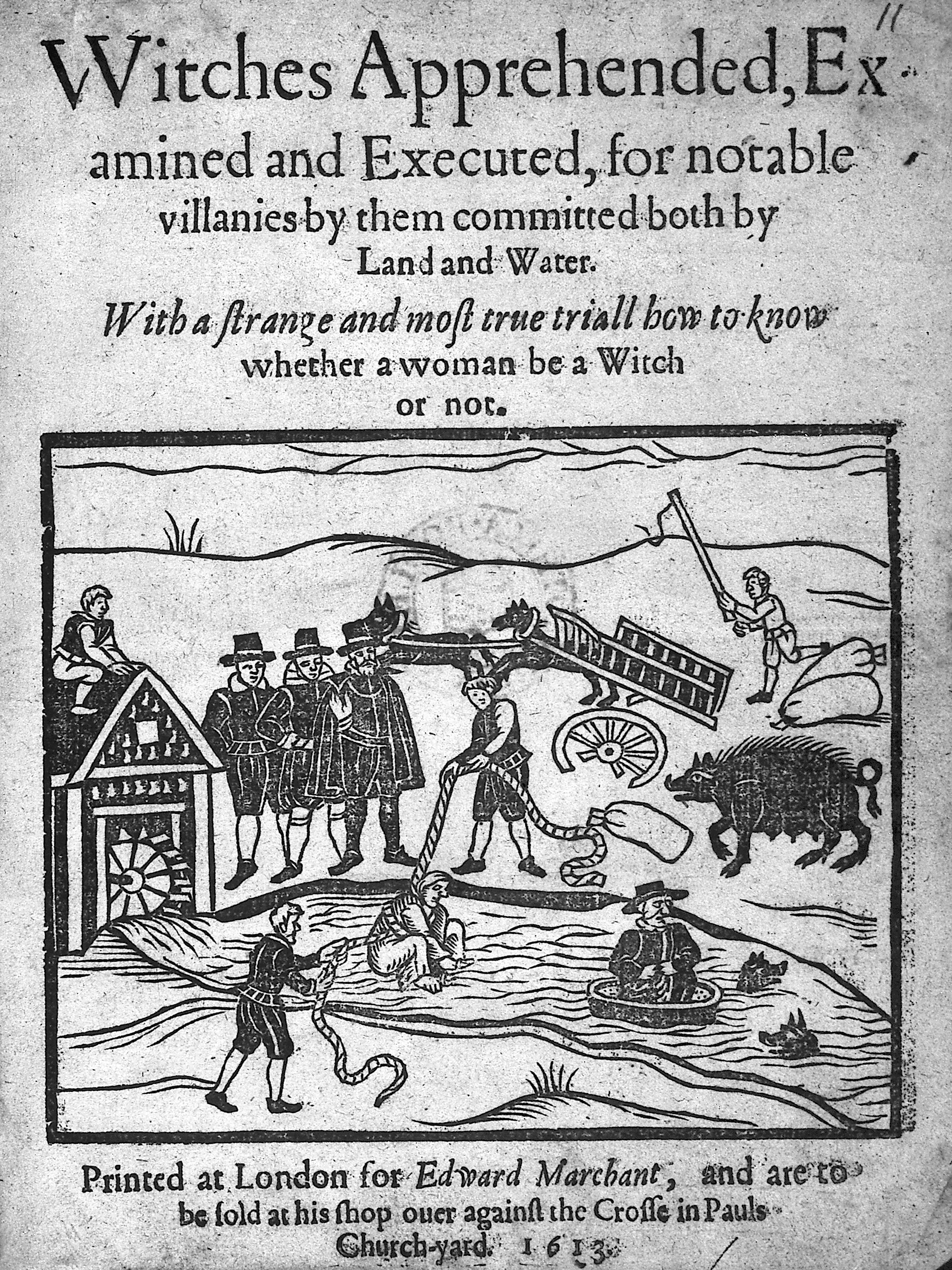 File:Witches apprehended..., 1613 Wellcome M0016701.jpg