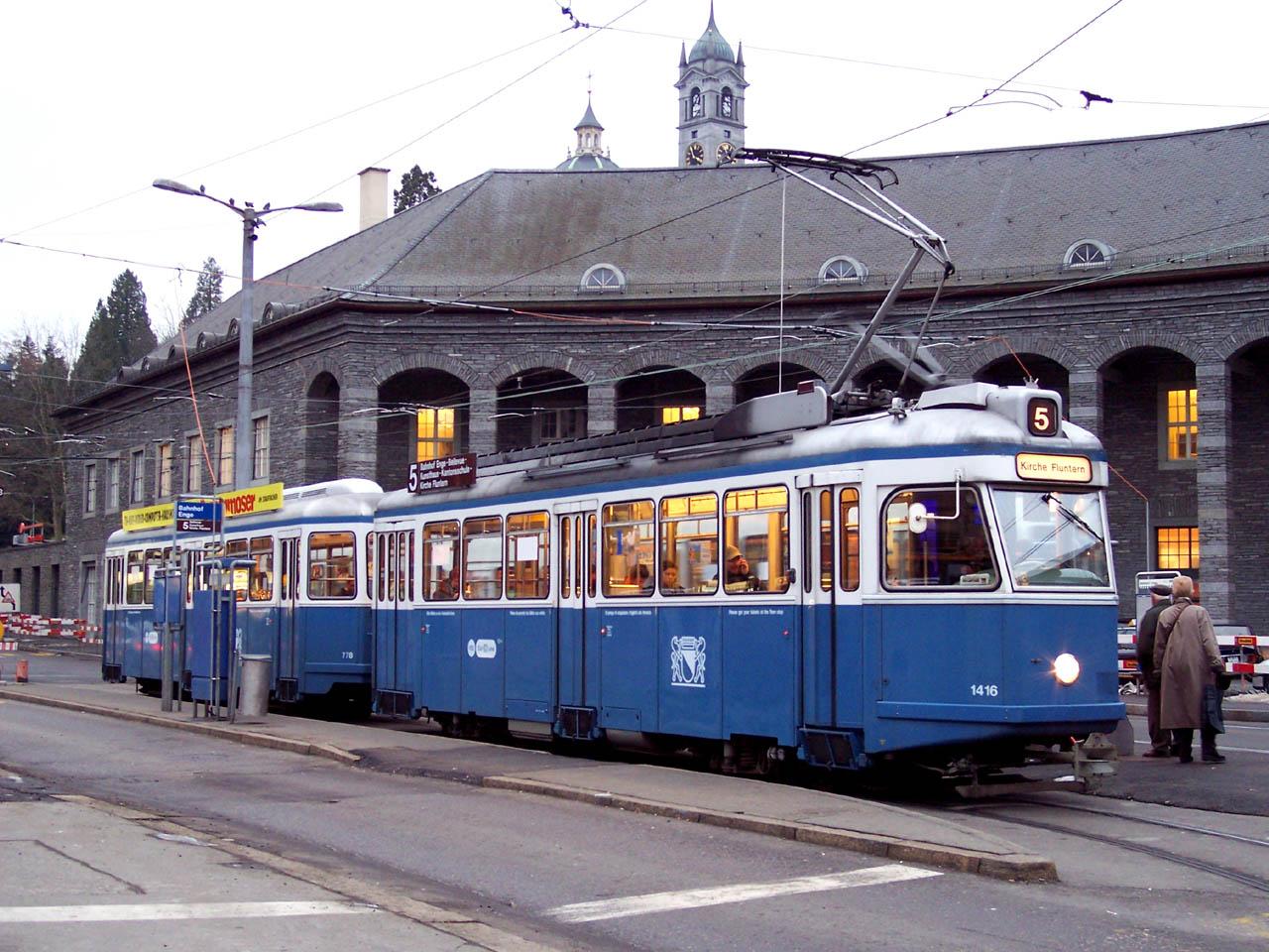 File:Zurich Be 4-4 Karpfen 1416 Bahnhof Enge.jpg