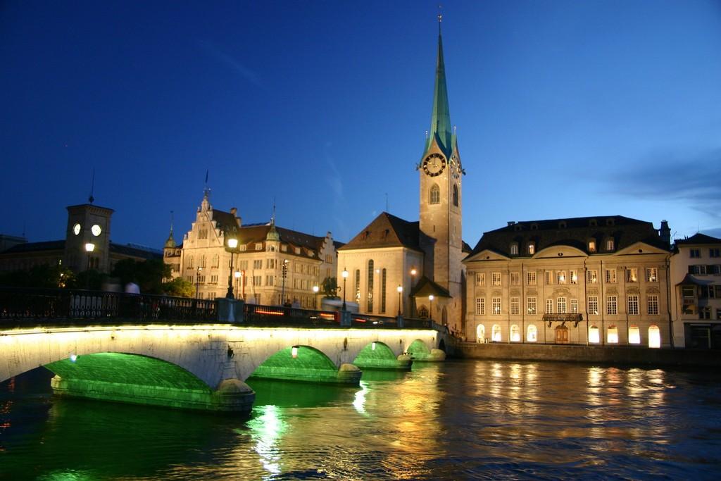 Zurich City Night Zürich at Night