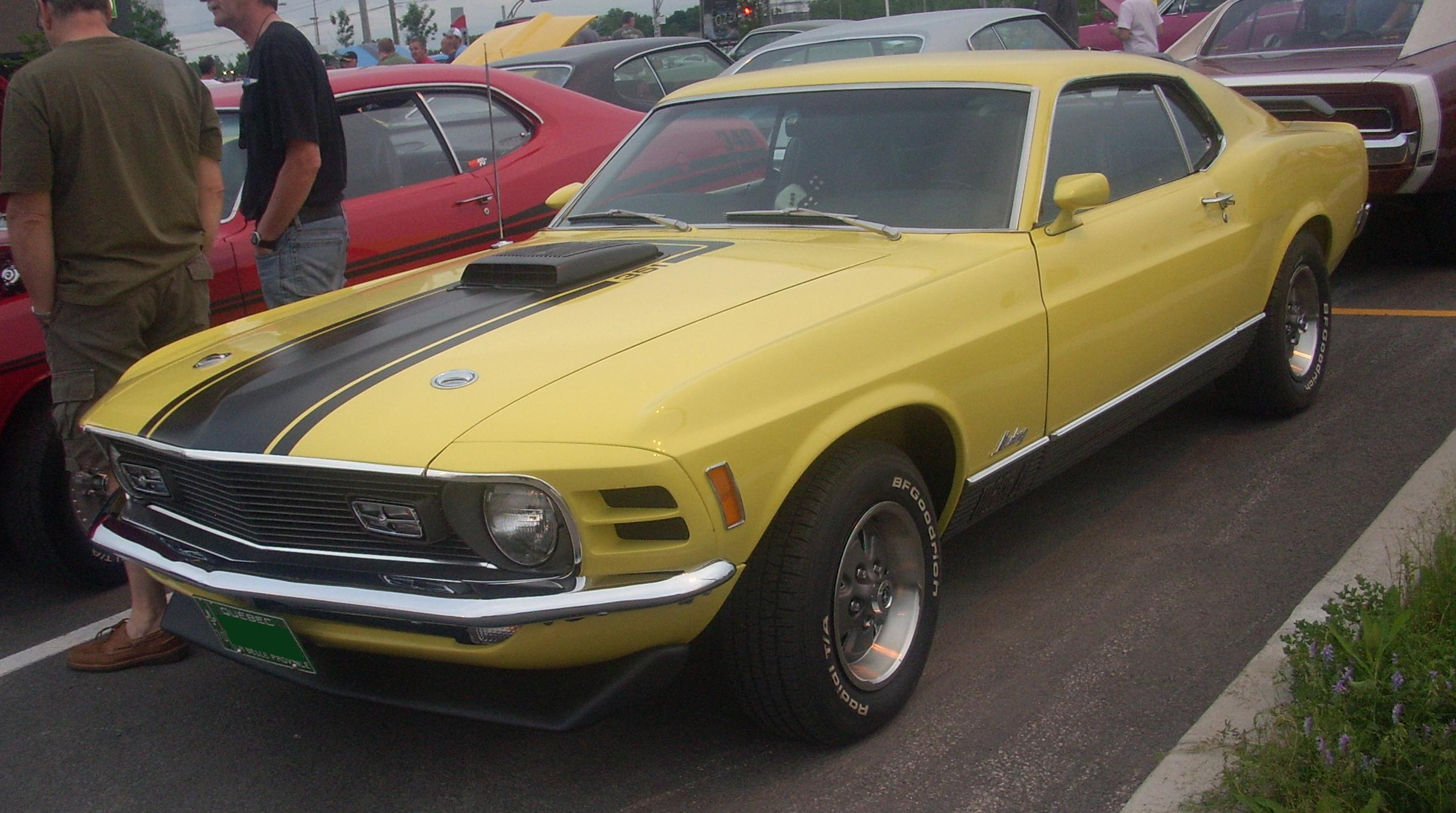 Description '70 Ford Mustang Mach I Coupe (Centropolis Laval '10).jpg