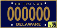 File:1969 Delaware license plate 000000 sample.jpg