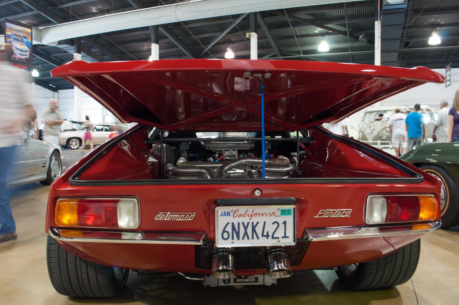 File1971 DeTomaso Pantera  Flickr  skinnylawyerjpg  Wikimedia