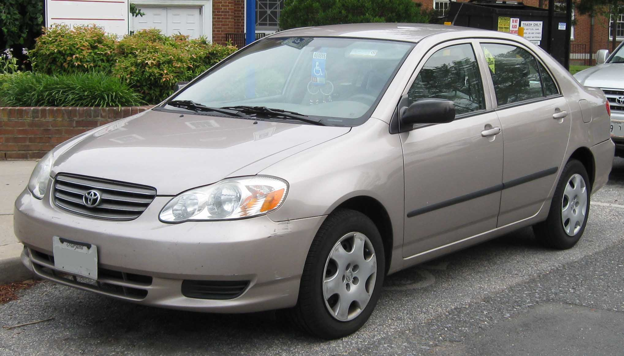 Description 2003-2004 Toyota Corolla CE.jpg
