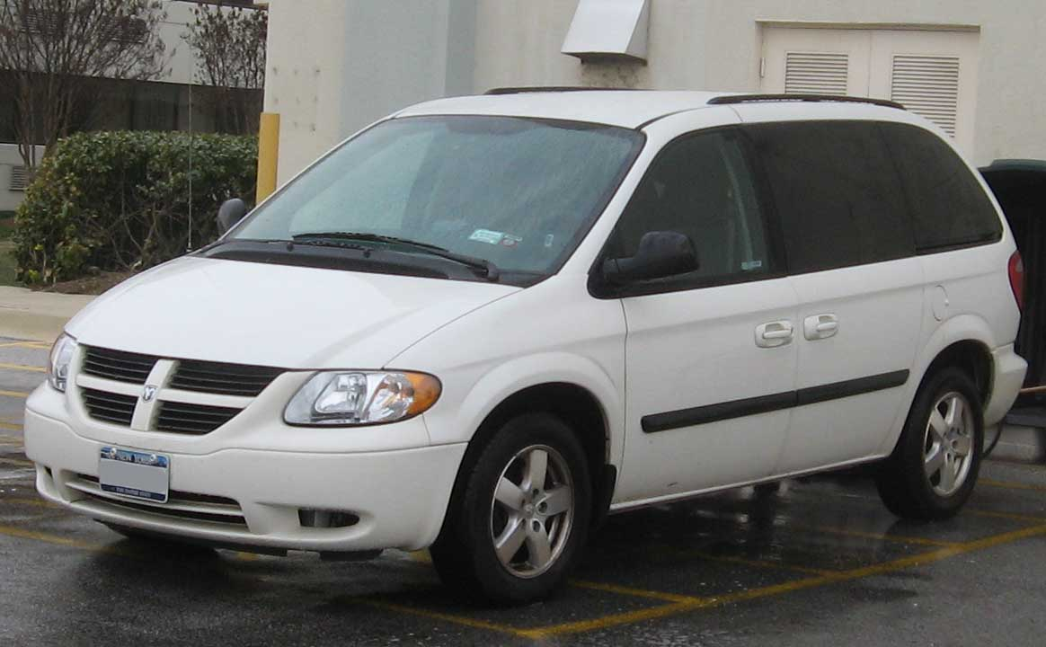 File 2007 Dodge Caravan Sxt Jpg Wikipedia