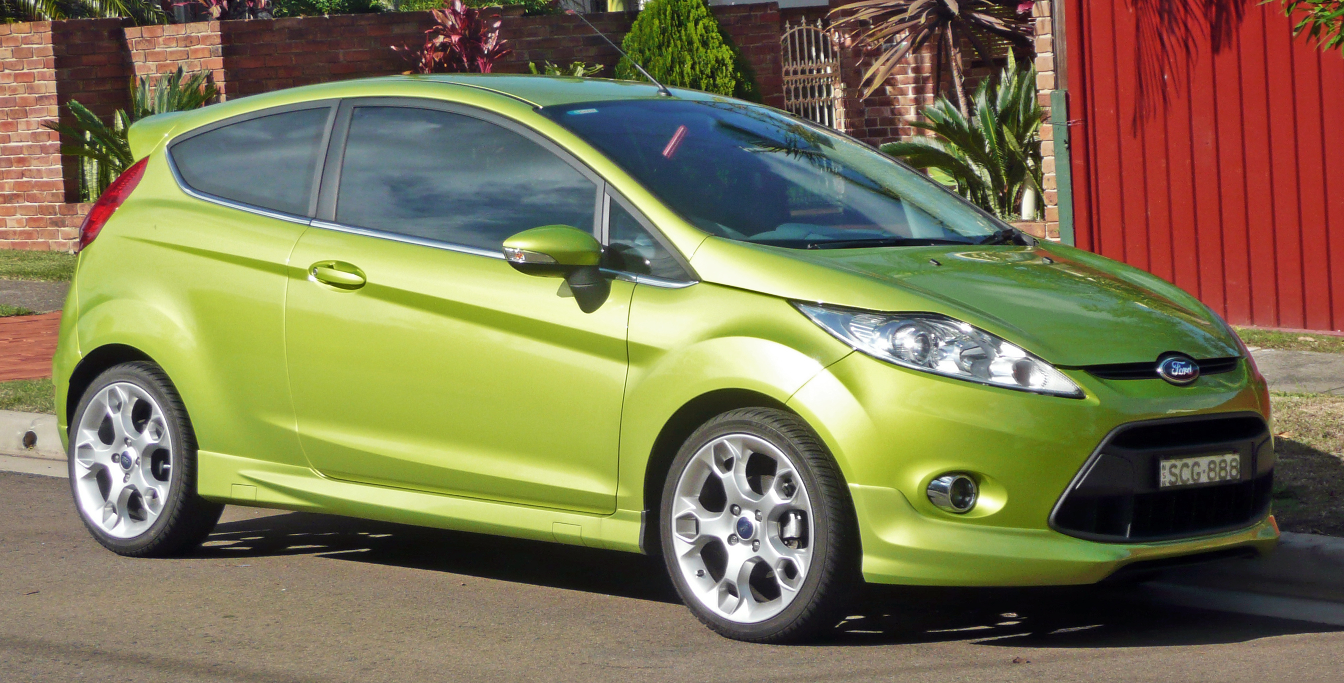 file 2009 2010 ford fiesta ws zetec 3 door hatchback wikimedia commons. Black Bedroom Furniture Sets. Home Design Ideas