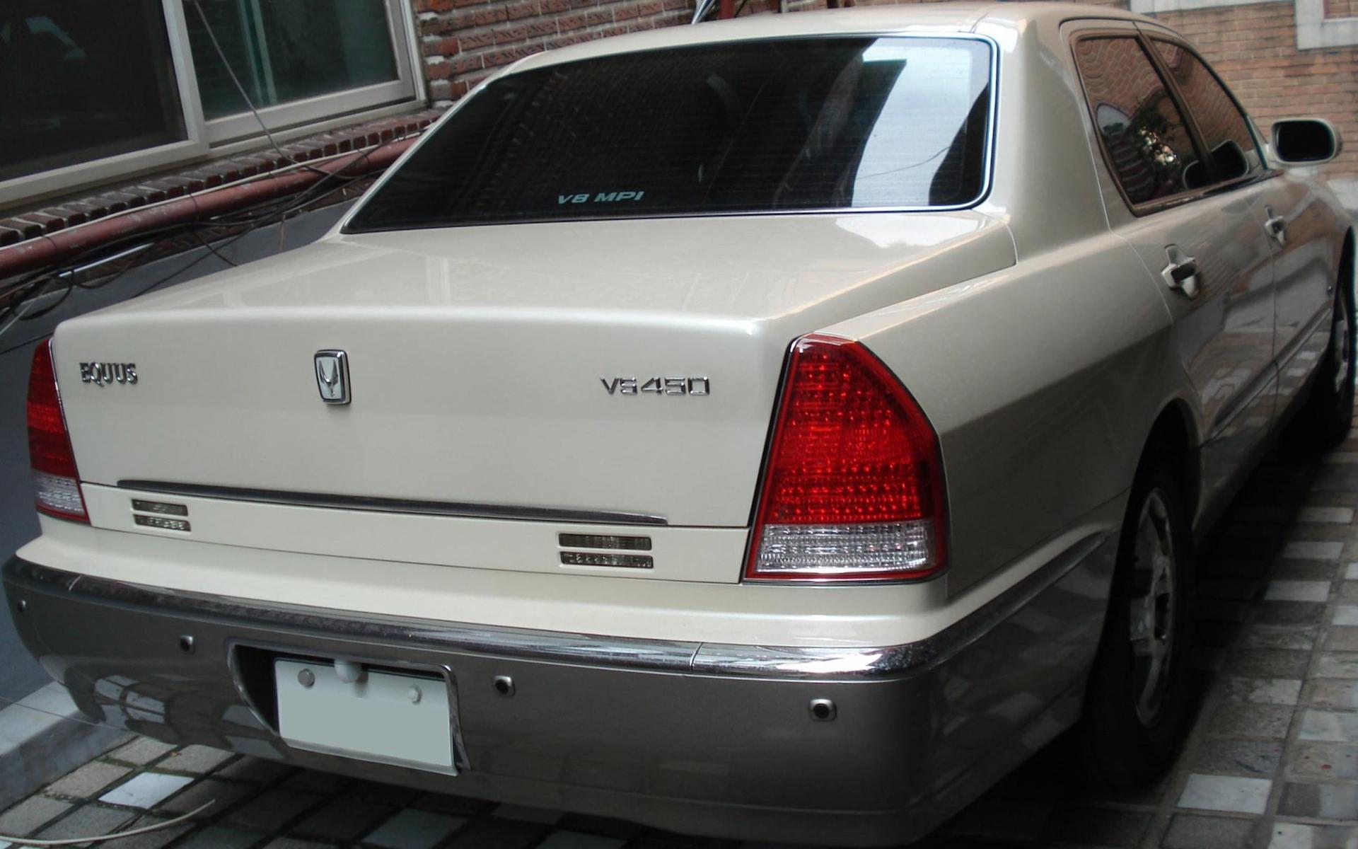 File 20100728 Hyundai Equus 02 Jpg Wikimedia Commons