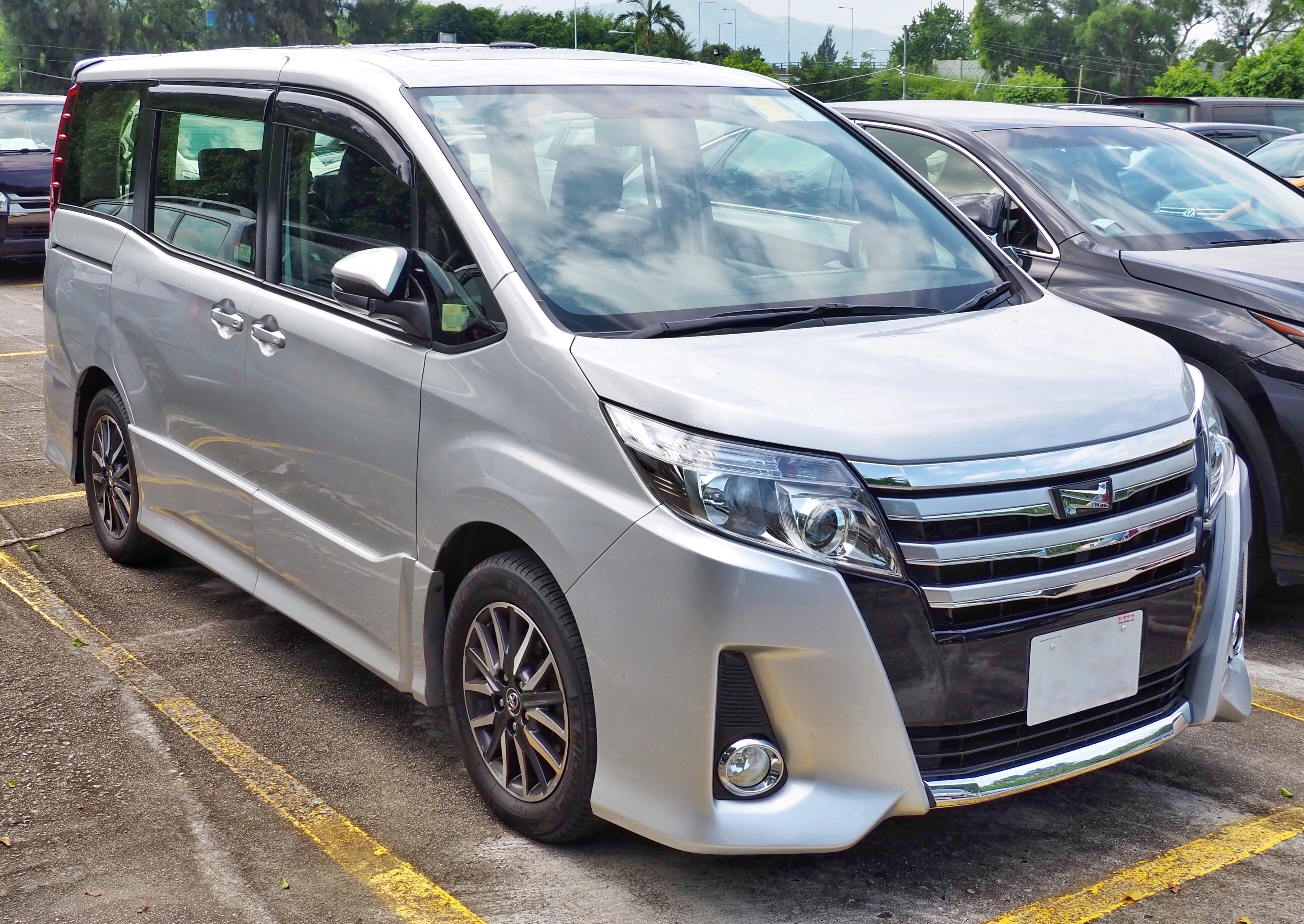Berkas 2014 Toyota Noah Si Pre Facelift Jpg Wikipedia Bahasa Indonesia Ensiklopedia Bebas