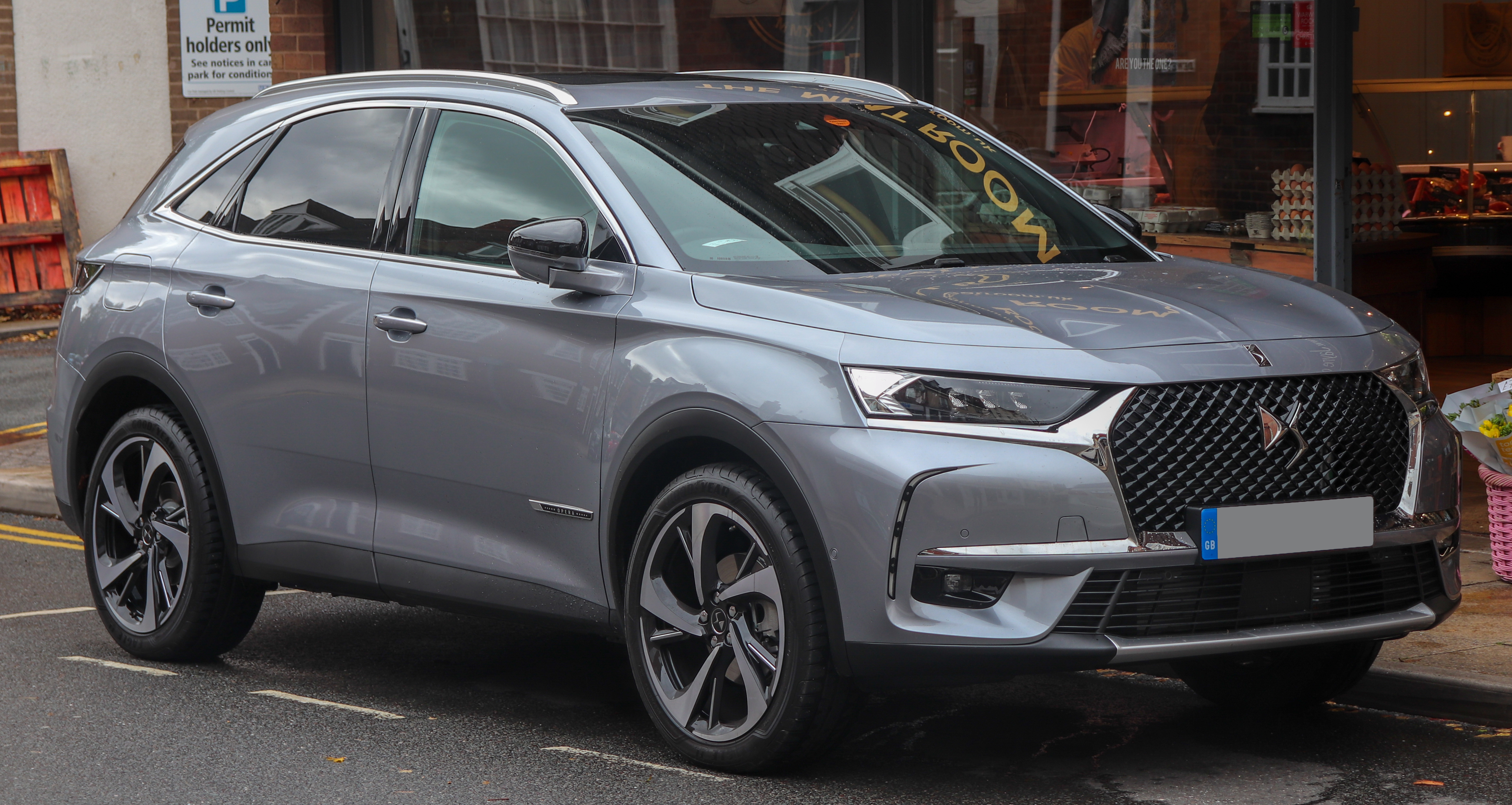 Voiture 7 Places 2017 >> Ds 7 Crossback Wikipedia
