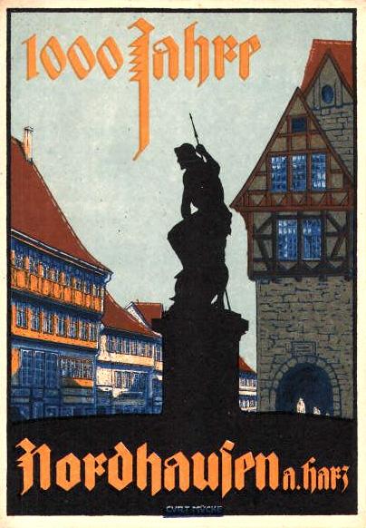 Datei:AK 1000 Jahre Nordhausen.jpg