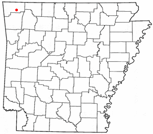 Loko di Lowell, Arkansas
