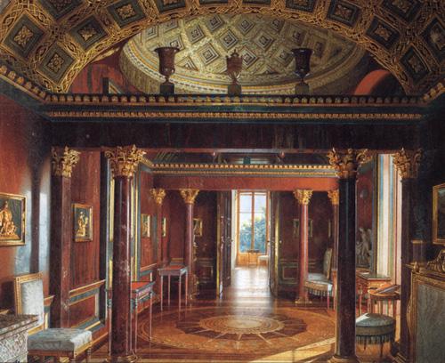 Интерьер Агатовых комнат