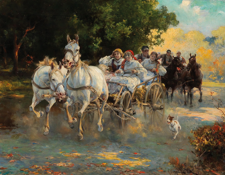 Filealfred Wierusz Kowalski The Peasant Weddingjpg