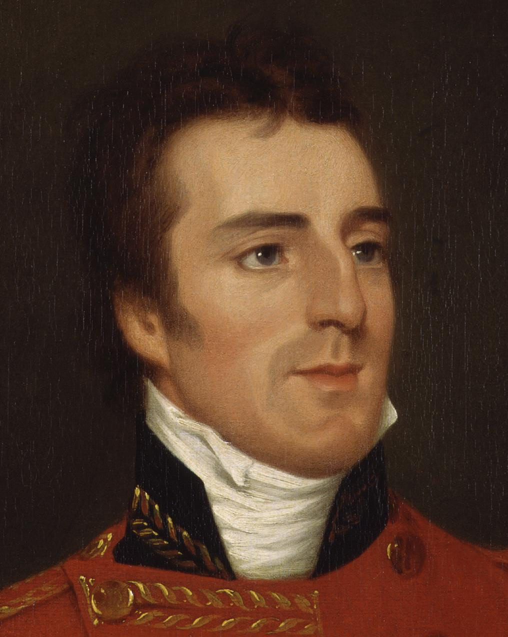 File:Arthur Wellesley, 1st Duke of Wellington by Robert Home ...
