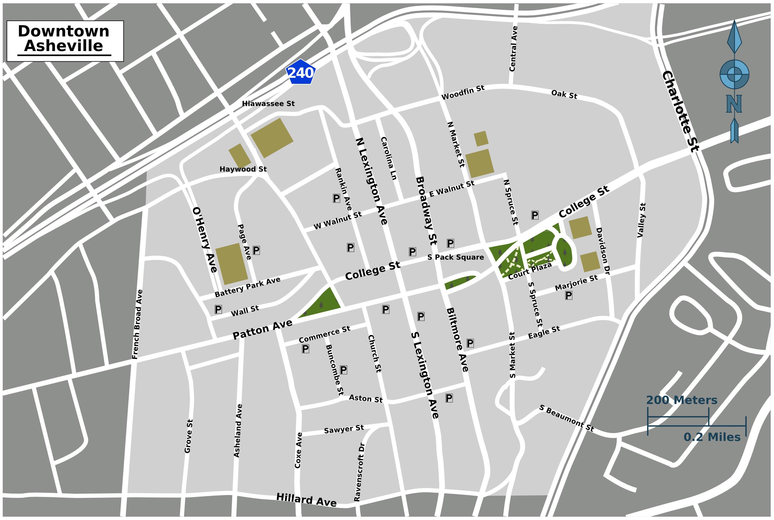File Asheville downtown