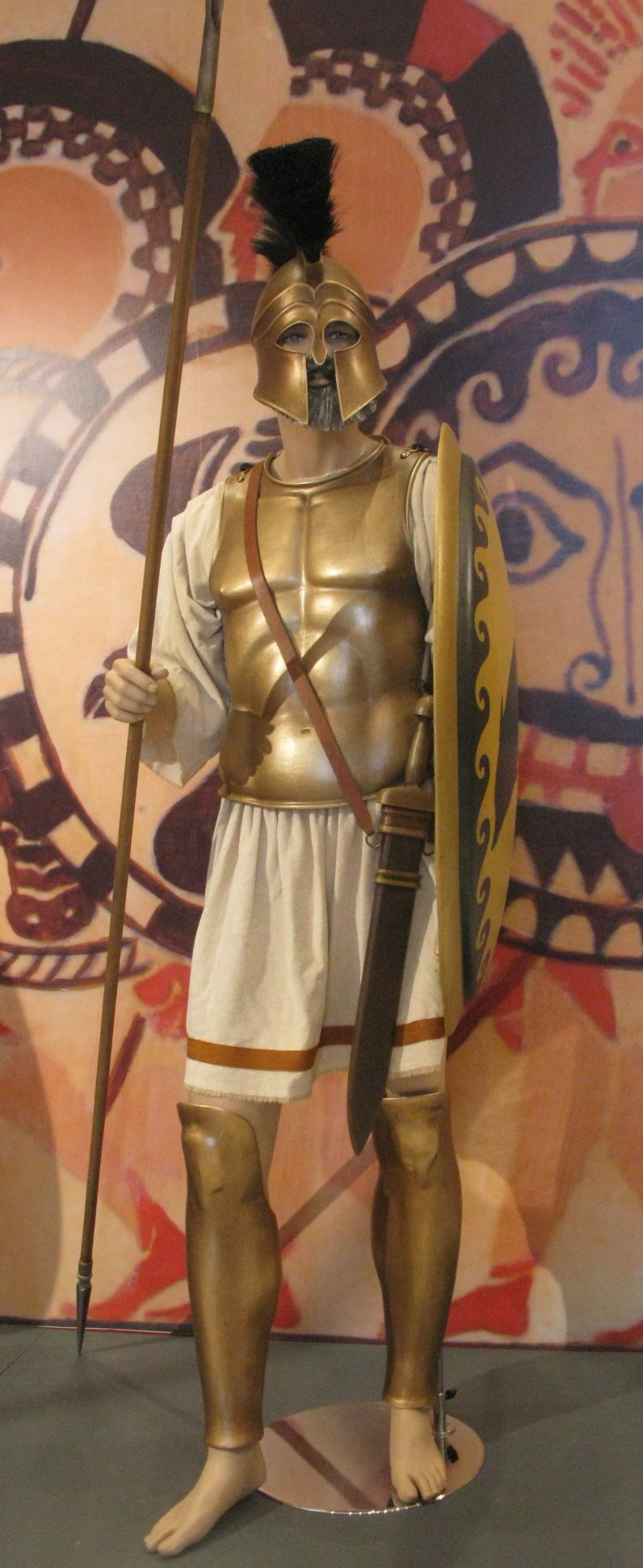 Greek Hoplite - Credit https://upload.wikimedia.org/wikipedia/commons/6/69/Athenian_hoplite.jpg