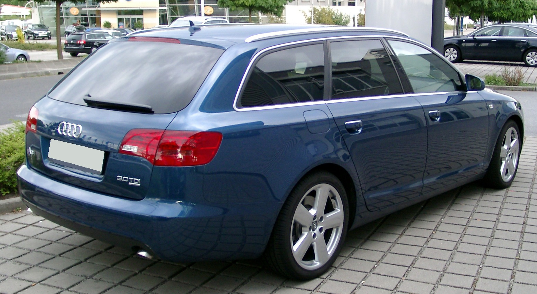 File:Audi A6 C6 Avant rear 20080621.jpg - Wikimedia Commons