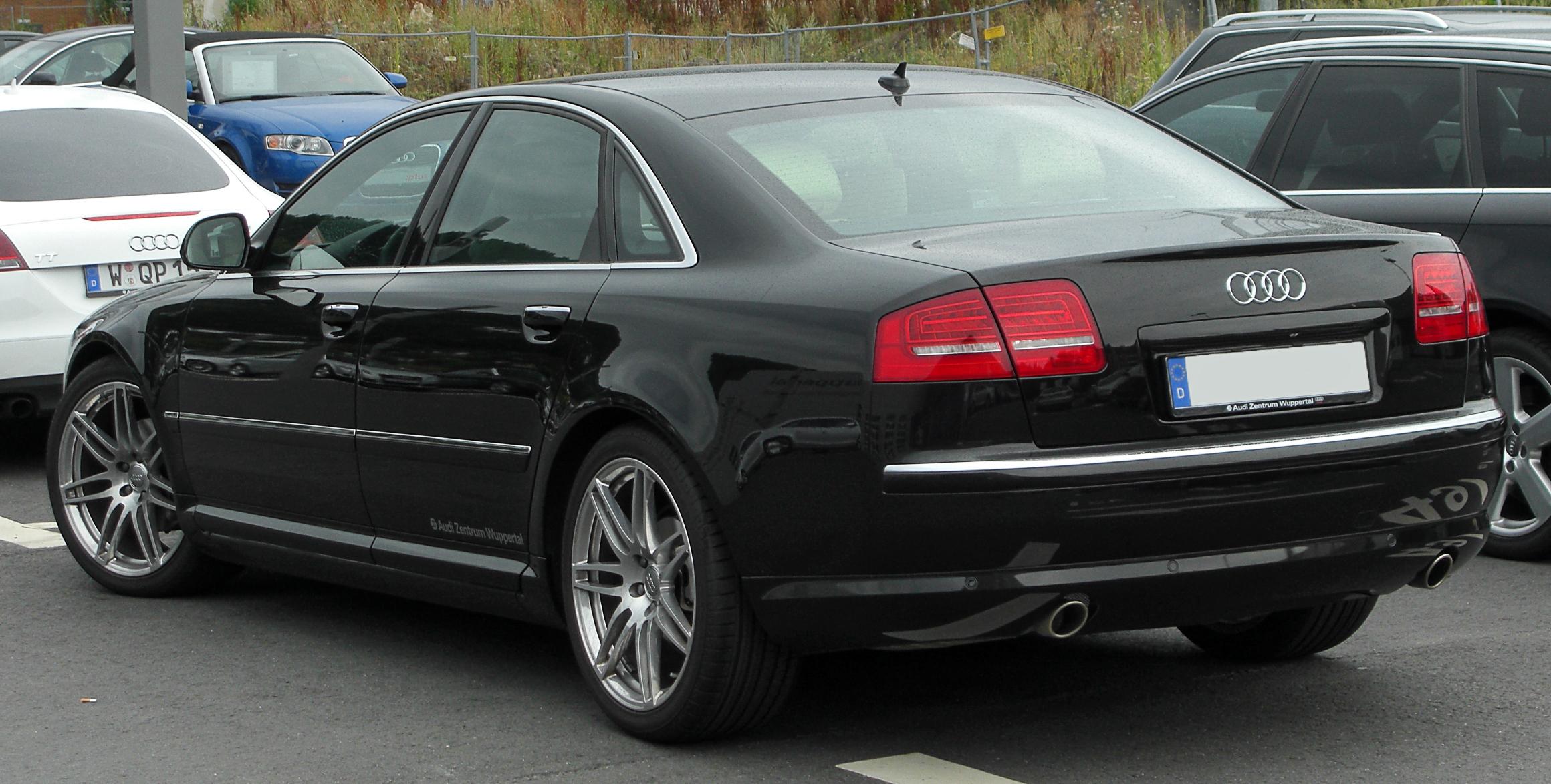 File:Audi A8 D3 II. Facelift rear 20100725.jpg - Wikimedia Commons