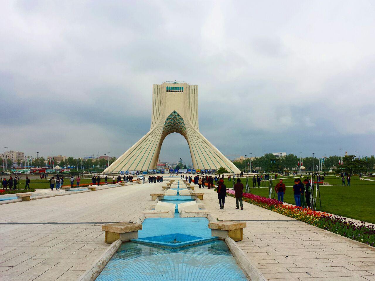 File:Azadi Tower, Tehran, Iran (April 2016)