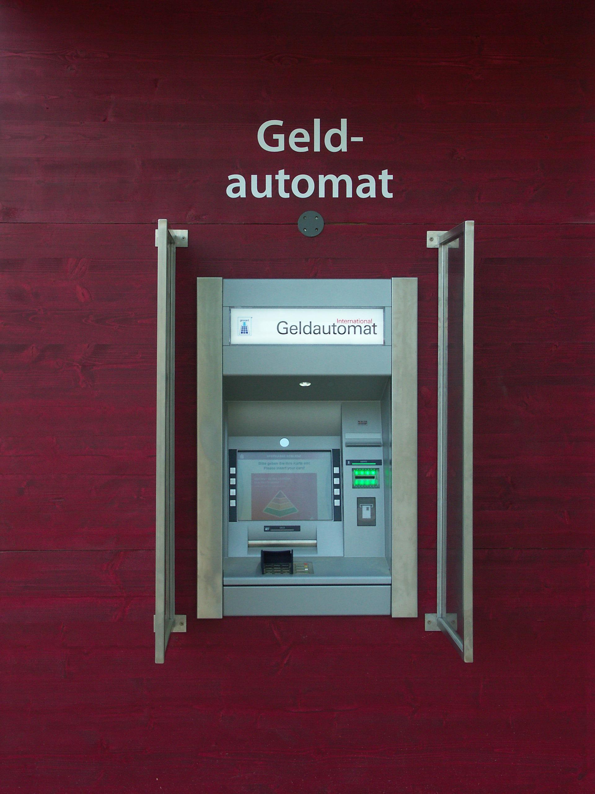 Geldautomat – Wikipedia