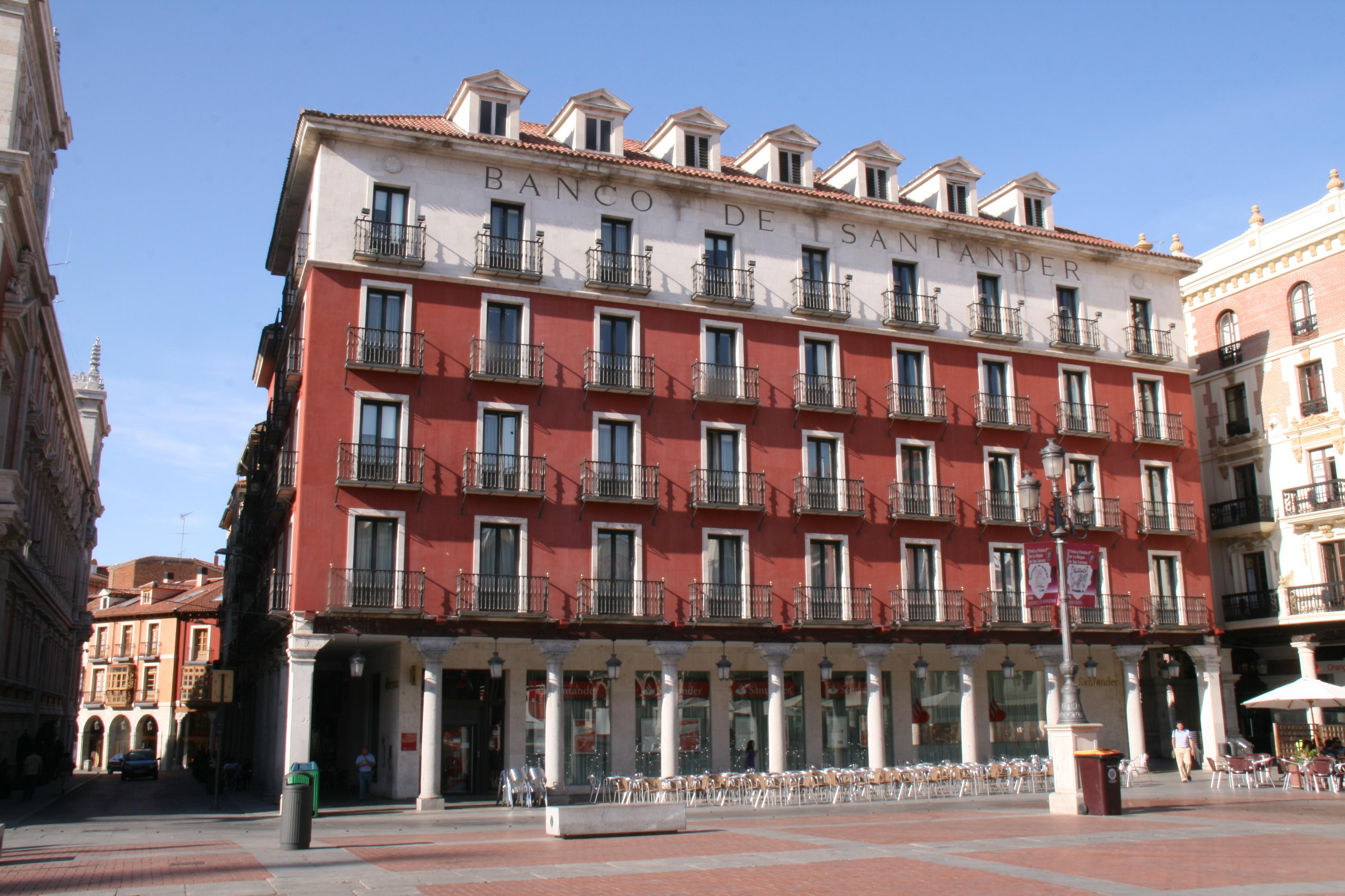 File banco de santander plaza mayor valladolid for Oficina banco santander valladolid