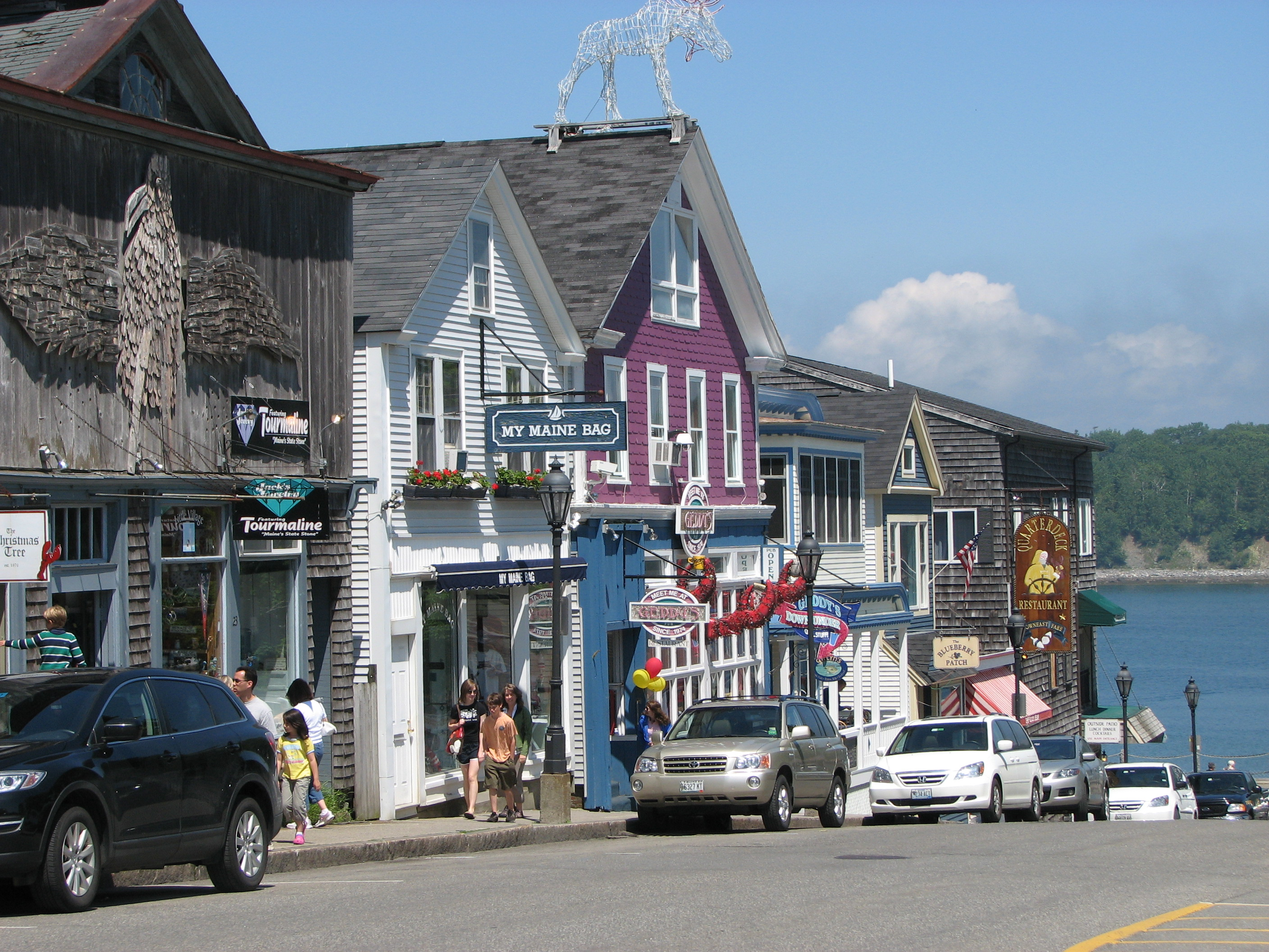bar harbor friendliest small towns