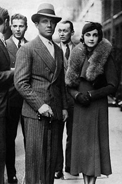 Hutton and her first husband Alexis Mdivani in 1934. Barbara Hutton and Prince Alexis Mdivani.jpg