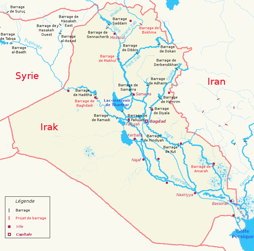 List of rivers of Iraq - Wikipedia