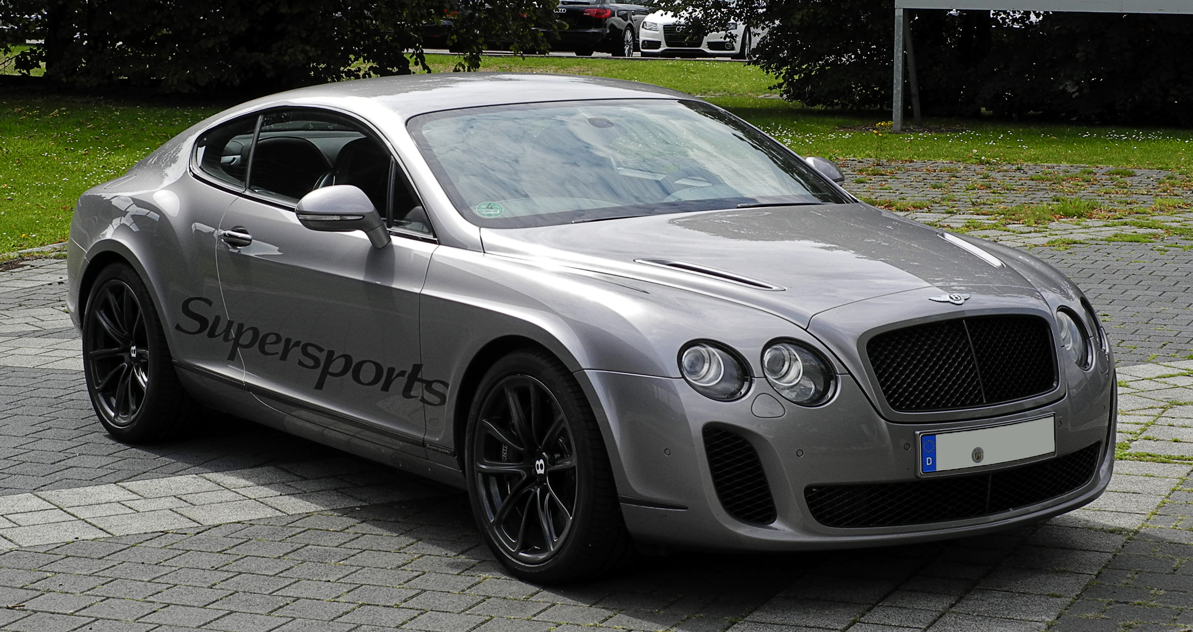 file bentley continental supersports frontansicht 10 august 2011 d wikimedia. Black Bedroom Furniture Sets. Home Design Ideas