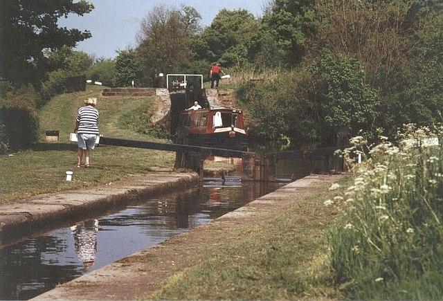 Bosley Locks - Macclesfield Canal - geograph.org.uk - 486682