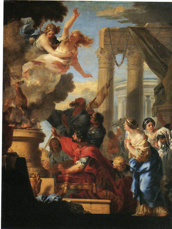 El terrible sacrificio de Ifigenia, la disyuntiva de un padre entre el amor y el deber