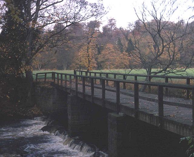 Bridge at Conyngham Park - geograph.org.uk - 819515