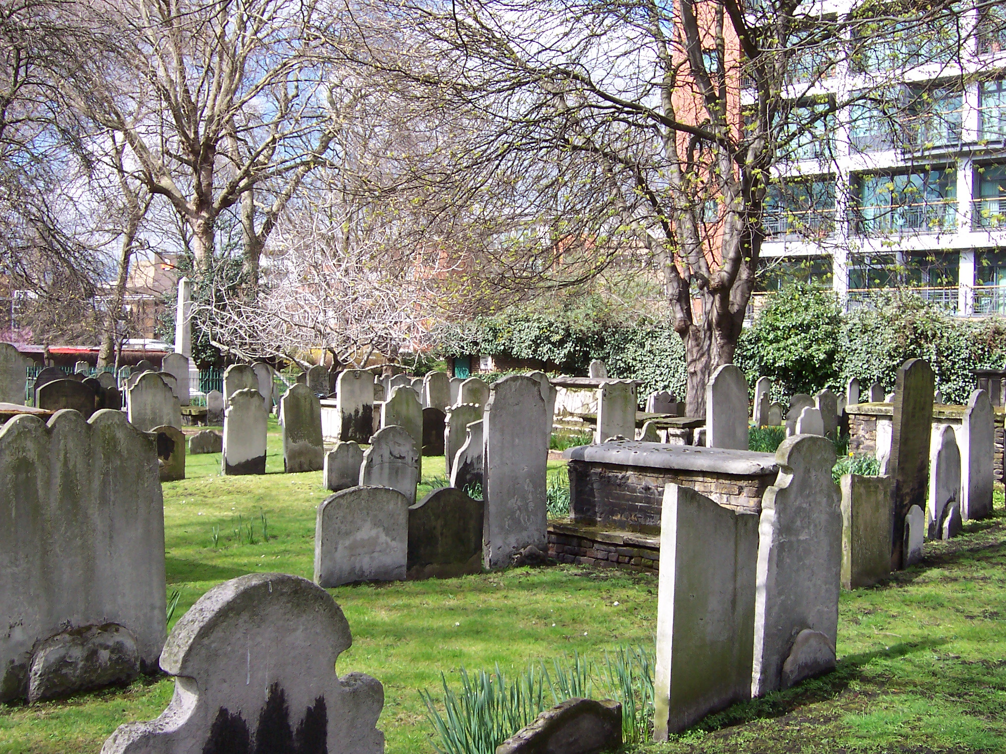 Wesley's Chapel and Bunhill Fields