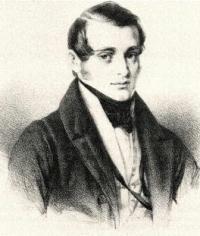 Norbert Burgmüller, Lithographie von Jakob Becker (Quelle: Wikimedia)