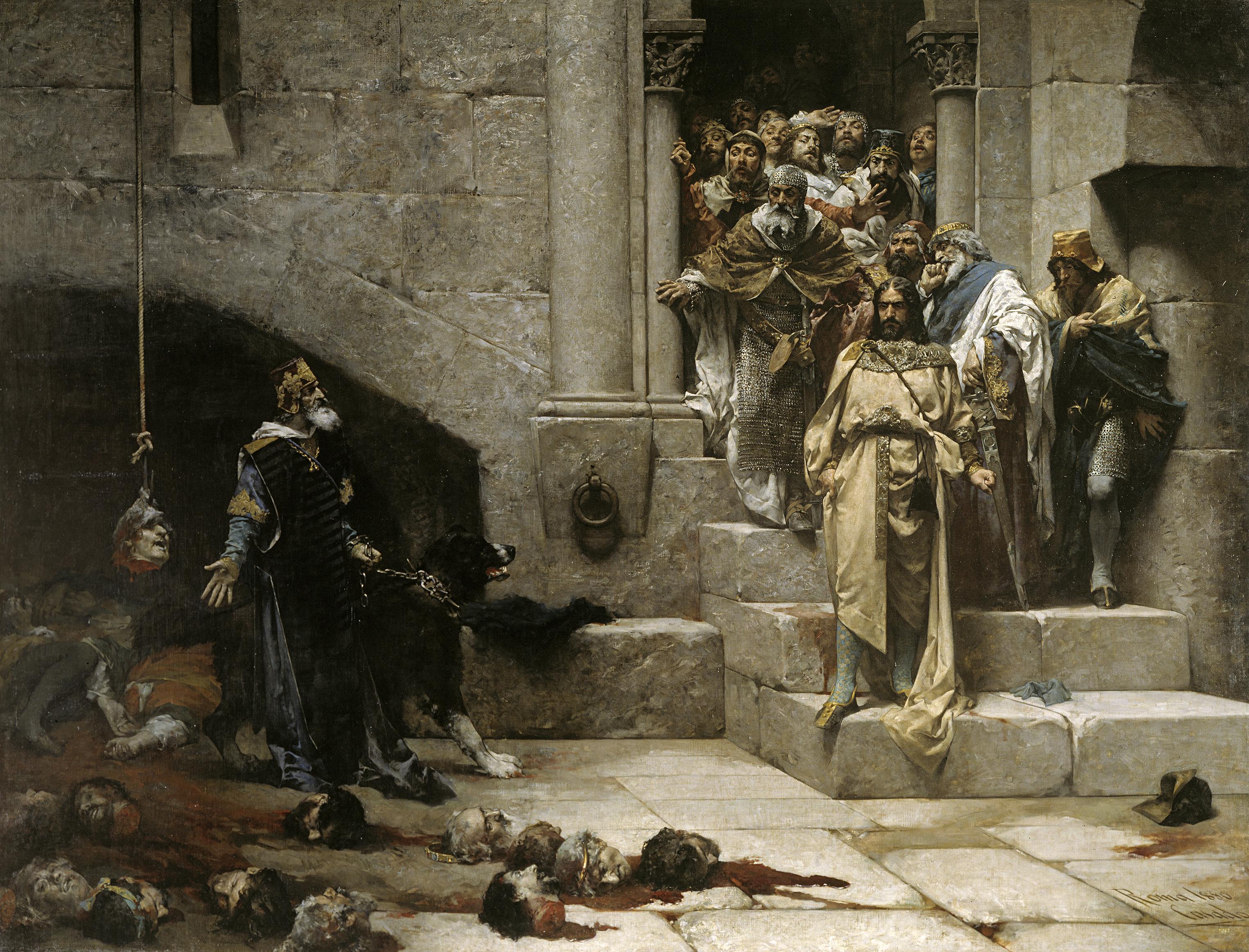 La campana de Huesca por Casado del Alisal