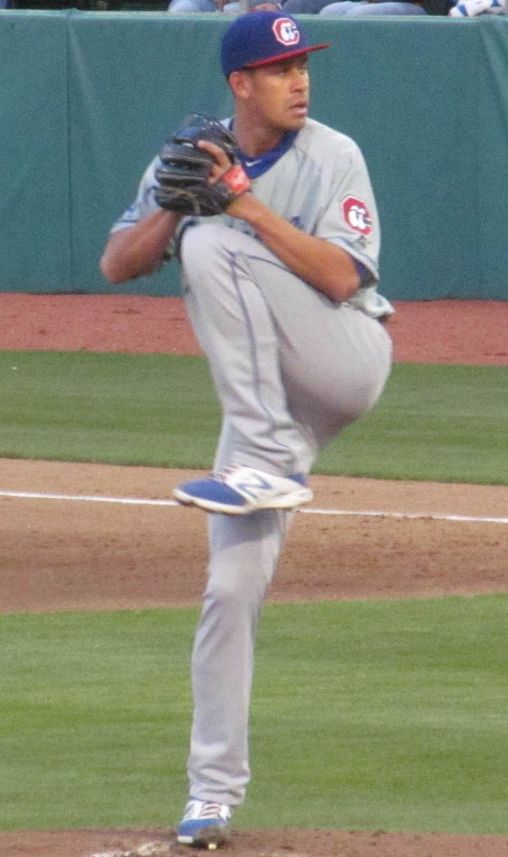 Frías with the [[Chattanooga Lookouts]] in 2014