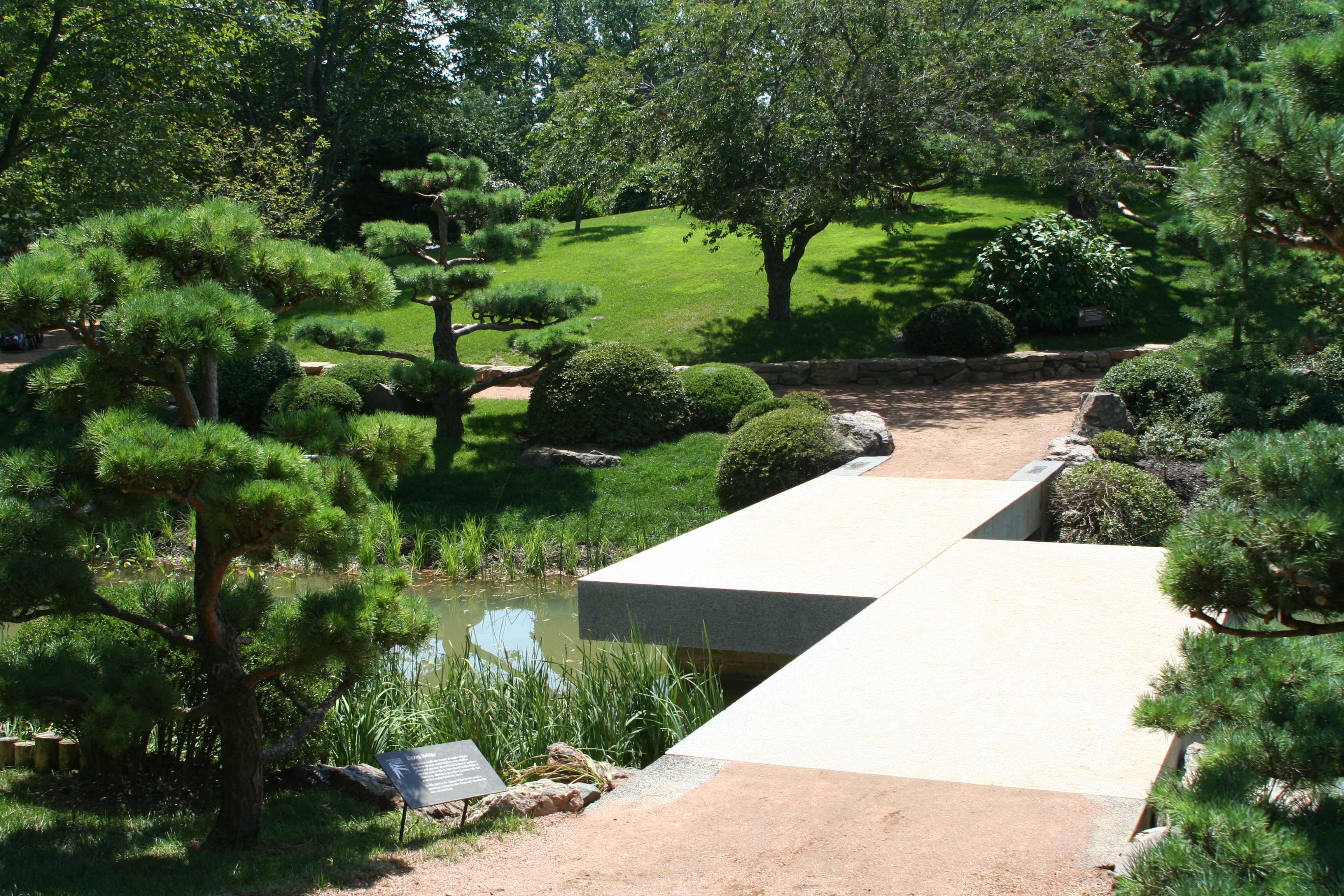 Marvelous File:Chicago Botanic Garden   Zig Zag Bridge