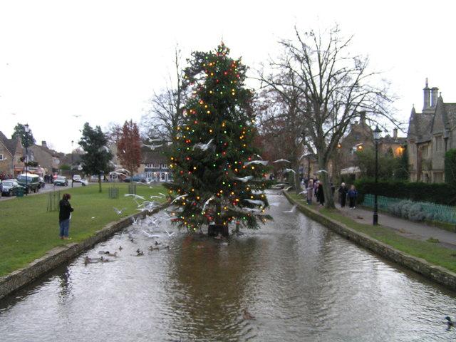 burton on the water christmas lights