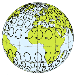Coriolis Effect in the Earth's Hemispheres